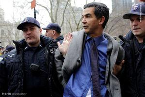 فیلم/ یورش پلیس آمریکا به معترضان در نیویورک