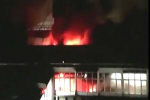 فیلم/ آتش سوزی در متروی ليورپول