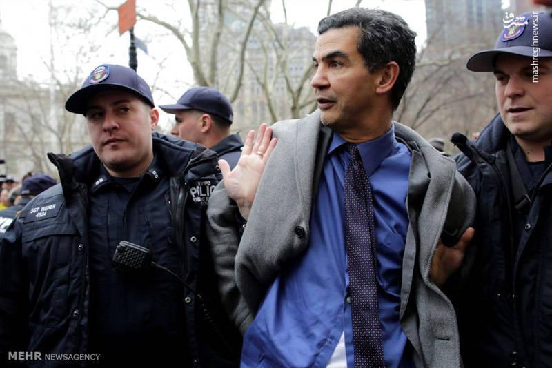 فیلم/ یورش پلیس امنیت به مردم معترض آمریکا