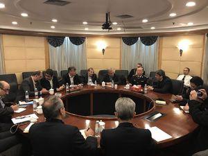 علی ربیعی در کمیته ویژه رسیدگی به کشتی سانچی