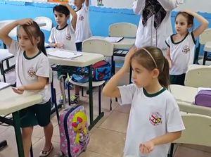 فیلم/ قرائت دعای فرج در مدرسه ای در برزیل