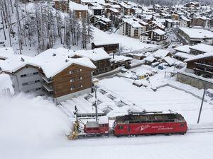 ترن برف روب