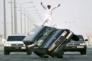 فیلم/ اوج اقتدار سعودیها در مانور پلیس!