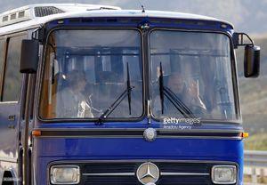رانندگی نخست وزیر ترکیه با اتوبوس