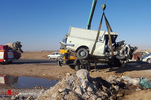 سانحه رانندگی با دو کشته در مشهد