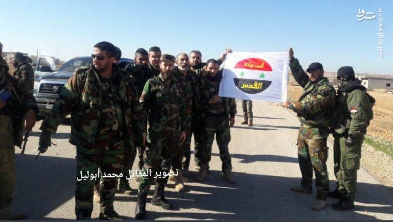 عکس/ ورود نیروهای ویژه ارتش سوریه به ادلب