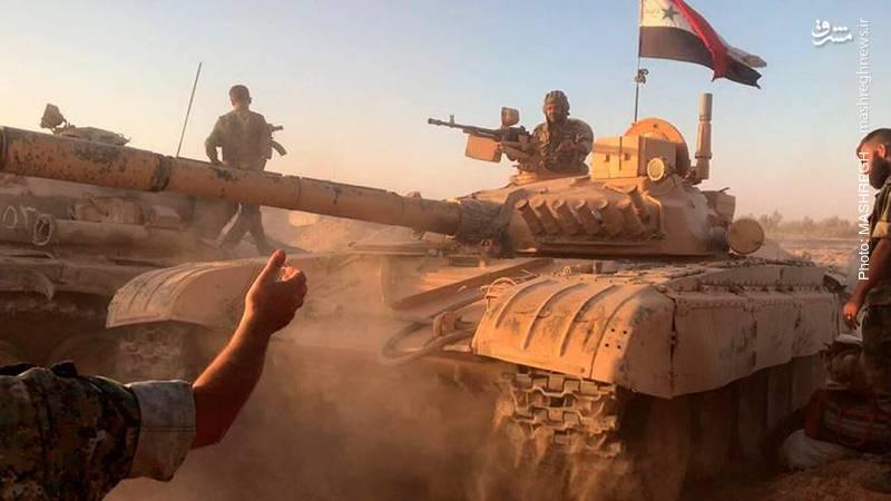 نبردهای شرق ادلب به روایت تصویر