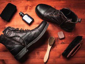 تمیز کردن کفش زمستانی