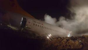 بوئینگ 737 ترکیهای دچار حادثه شد