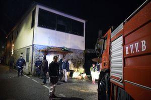 انفجار مرگبار در یک ساختمان