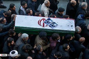 تشییع جانباز شهید محمد قبادی