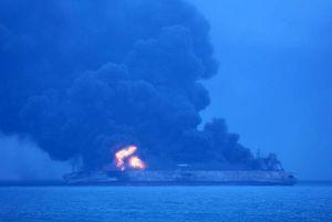 ۳ پیکر کشف شده نفتکش سانچی در راه ایران