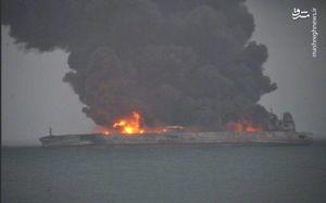 اشتباه کشتی فلهبر منجر به انفجار نفتکش سانچی شد/ چینیها در ساعات و روزهای اولیه حادثه کمکاری کردند