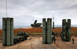 استقرار سامانه اس-400 در شبه جزیره کریمه