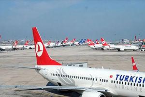 فیلم/ فرود هواپیمای ترکیهای در ساحل!