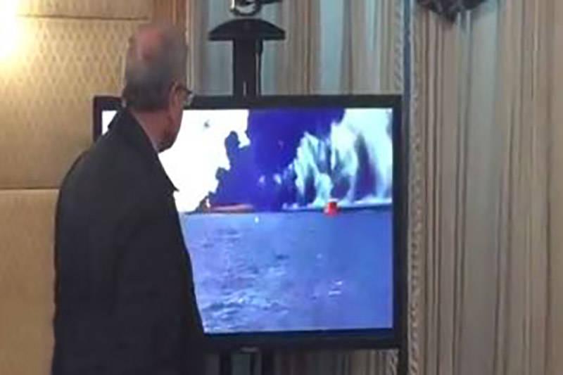فیلم/ ربیعی در اتاق مديريت بحران نفتکش ایرانی