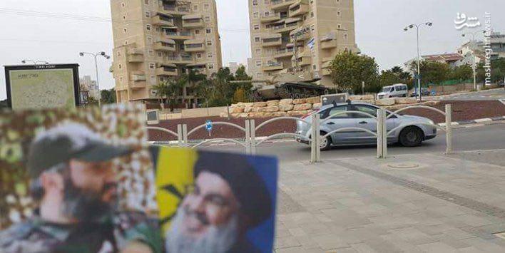 عکس/ سیدحسننصرالله و عمادمغنیه در تلآویو