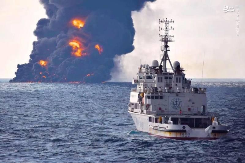 آخرین تصاویر نفتکش ایرانی