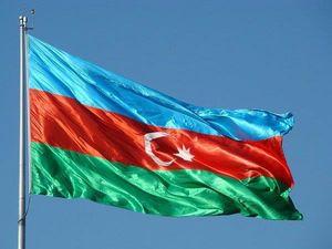 پرچم جمهوری آذربایجان