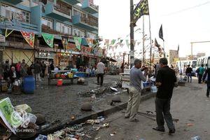 عکس/ دو حمله انتحاری مرگبار در بغداد