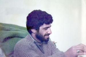 شهید علی اصغر حسینی محراب