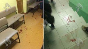 عکس/ حمله مردان نقابدار به یک مدرسه