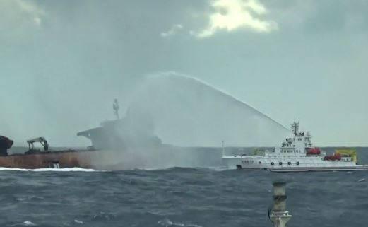 فیلم/ گزارش جهان آرا از حادثه کشتی سانچی