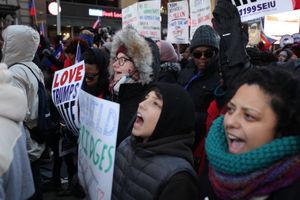 تظاهرات هزاران نفر علیه نژادپرستی در امریکا