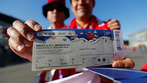 فروش بلیتهای جام جهانی به 34 برابر قیمت واقعی!