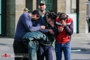 عکس/ دستگیری اراذلواوباش پایتخت