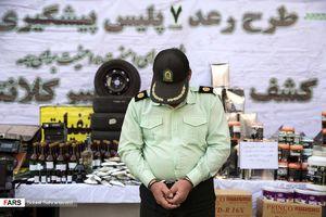عکس/ بازداشت مامور قلابی در تهران