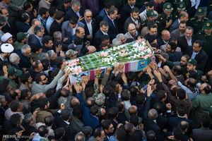 عکس/ استقبال از پیکر شهید انبارکی در بوشهر