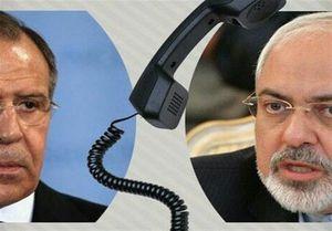 رایزنی تلفنی ظریف و لاوروف درباره برجام و سوریه