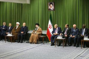 دیدار شرکتکنندگان در سیزدهمین کنفرانس اتحادیه بینالمجالس سازمان همکاری اسلامی