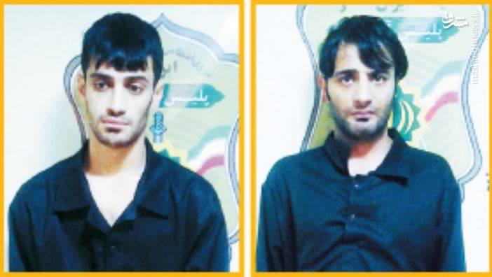 بازداشت پسرعموهای زورگیر با شلیک گلوله +عکس