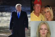 ترامپ و بازیگر فیلمهای مستهجن