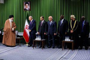 فیلم کامل بیانات رهبری در دیدار میهمانان اجلاس کشورهای اسلامی