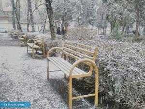 آغاز بارش برف و باران در غرب و جنوب غرب کشور