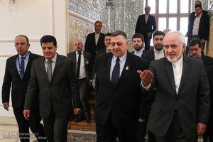 عکس/ دیدار رئیس مجلس سوریه با ظریف,