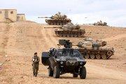 نیروهای ترکیه در مرز سوریه