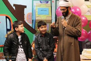 عکس/ جشن تولد فرزندان شهدای مدافعحرم در حرم حضرت معصومه(س)