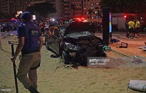عکس/ حمله مرگبار خودرو به عابران پیاده در ریودوژانیرو