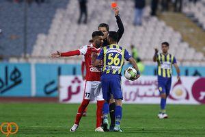 عکس/ صحنه ای که فیروز کریمی را عصبانی کرد