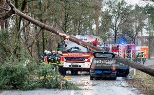 عکس/ طوفان شدید آلمان را درنوردید