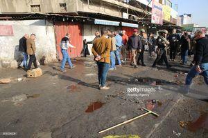 عکس/ انفجار مرگبار بمب در بغداد