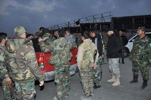عکس/ نیروهای ارتش سوریه آماده بازپسگیری قلب دمشق