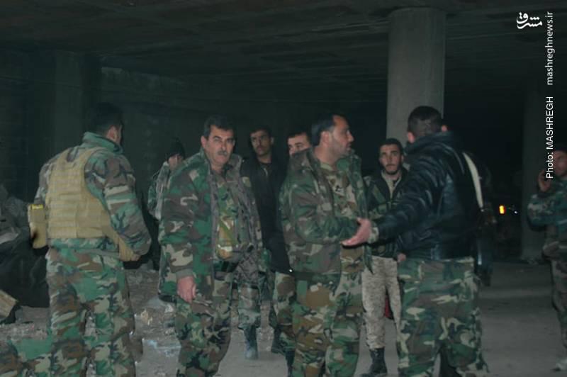 نیروهای ارتش سوریه آماده برای بازپس گیری قلب دمشق