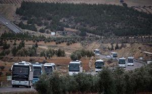 معارضان سوری به عفرین رسیدند +عکس