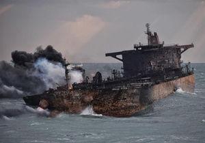 نفتکش ایرانی از آب بیرون کشیده میشود؟
