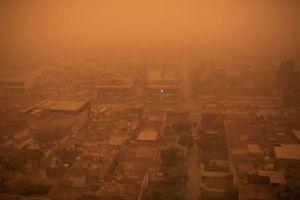 عکس/ گرد و غبار شدید در عراق